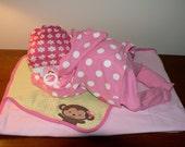 Girl Sleeping Baby Diaper Cake