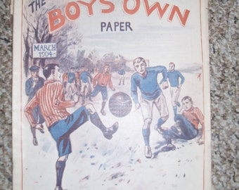 Boys Own Paper, March 1904