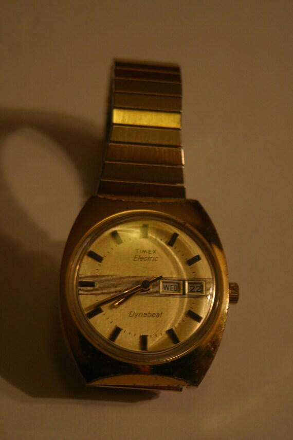 Nice Timex Dynabeat Electric Men's Wrist Watch