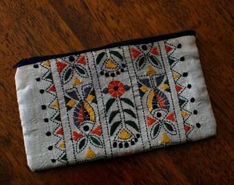 Vintage Kantha Purse 2 Silk