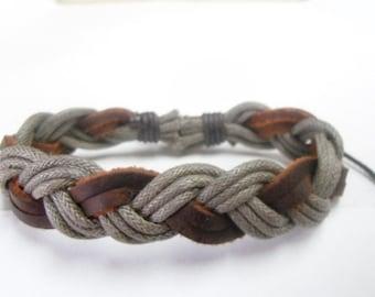 Leather bracelet 002