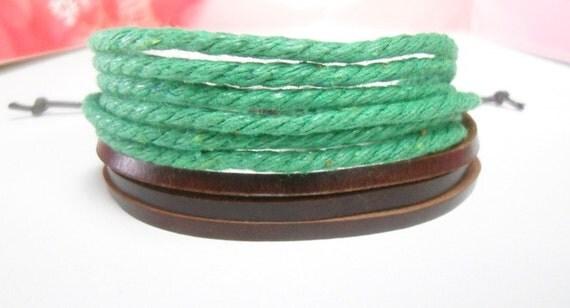 Leather bracelet 10