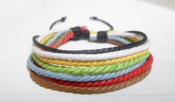 Leather bracelet 084