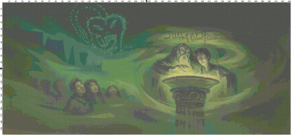 Harry Potter Book Cover Page : Small size harry potter and the half blood prince book cover