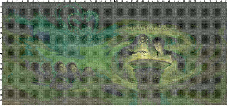 Harry Potter Book Half Blood Prince Pdf ~ Large size harry potter and the half blood prince book cover