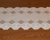 Small Hardanger Table Runner 20% off with coupon code:  20PERCENTOFF