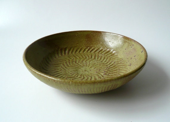 Ancient Fossil Bowl