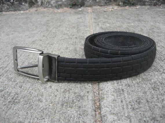 Repurposed Vintage Bike Tire Belt