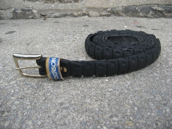 Repurposed Mountain Bike Tire Belt