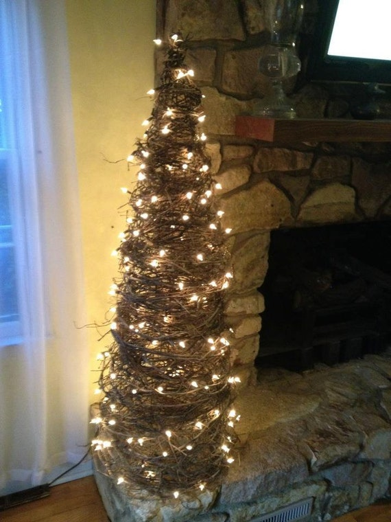 Items Similar To Primitive Vine Trees Great Shabby Chic Or