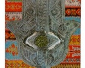iHamsa iPhone Case