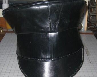 Civil War Rubber Civilian Wheel Hat