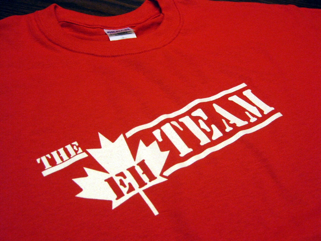 The Eh Team T-Shirt Funny Canada Retro Humor Gag Joke Tee