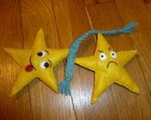 Stars On A Rope Organic Catnip Cat Toy