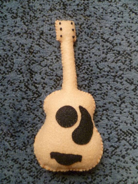Guitar Organic Catnip Cat Toy