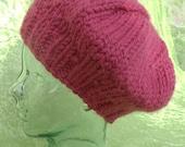 Paris Knit Hat Pattern (PDF only)