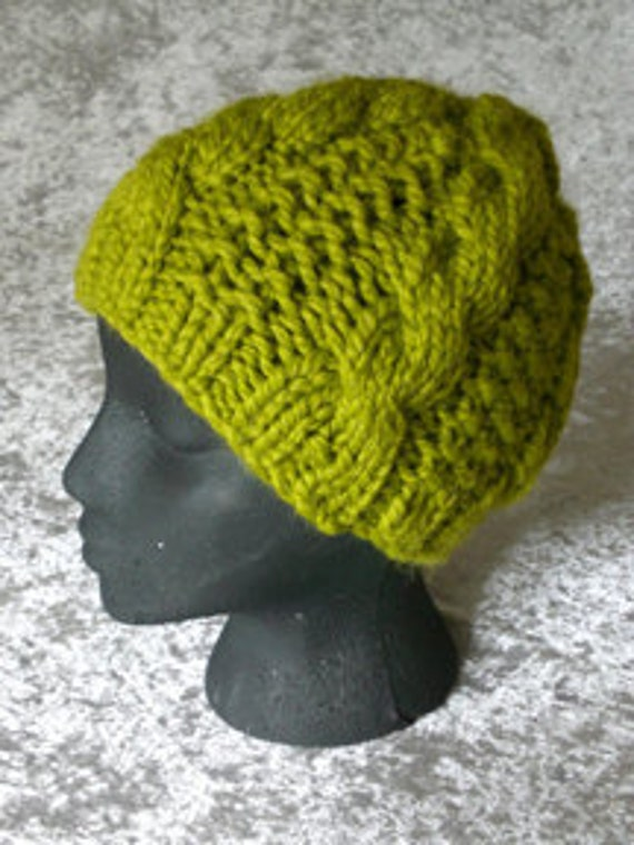 Terri Knit Hat Pattern (PDF only)