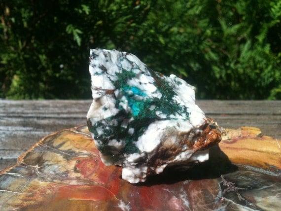 Canigetalite rough, A grade w/ chrysocolla, malachite, turquoise, galena, hematite
