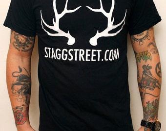 Large StaggStreet.com Men's Tshirt