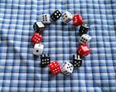 Vegas Gamblin' Dice bracelet