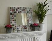 Personalised Swarovski Photo Mosaic Mirror