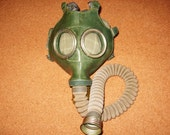 Vintage Gas Mask GP-4u from Soviet Union (Russian),Brand New, cyber mask, cyber goth respirator