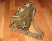 Vintage Military Field bag, Soviet army military field bag