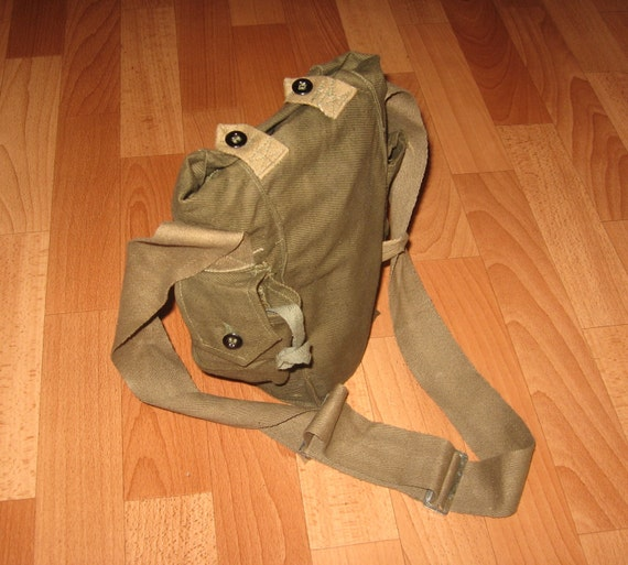 Vintage Military Field bag, Soviet army military field bag
