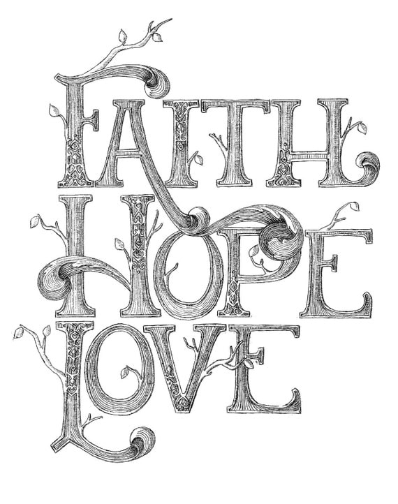 It is a picture of Exceptional Hope Coloring Pages Printable