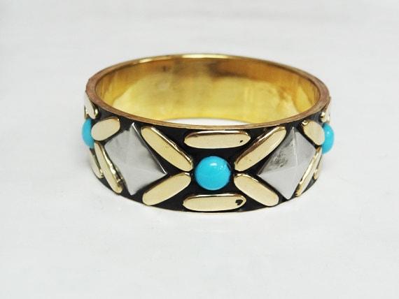 Vintage Brass Bangle, Bracelet
