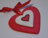 2012 Classic Red & White Heart