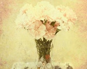 Nostaglia 8 x 12 inch Fine Art Print Photo Carnations bouquet distressed rustic shabby chic whimsy
