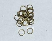 8mm Antique Bronze Split Jump Ring