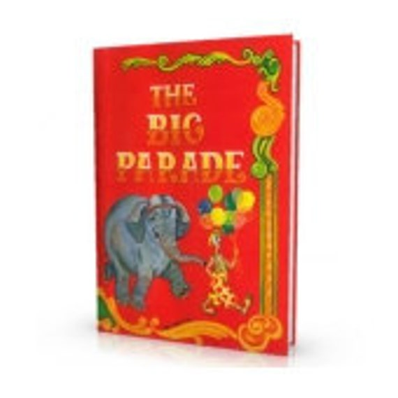 Parade - Personalized Children's Keepsake Story Book - The Big Parade - Made to order -Learning Toys