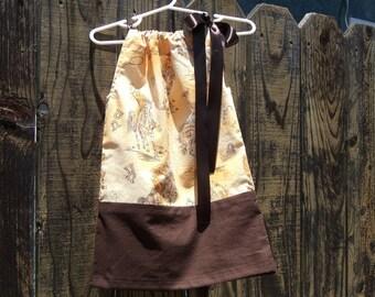Sale pillowcase dress /cowgirl dress /birthday dress /baby girl dress