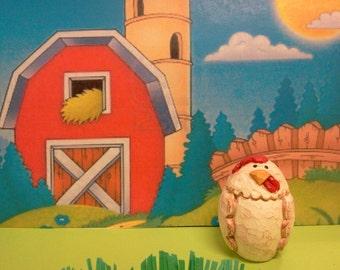 Chicken Woodcarving (Medium)