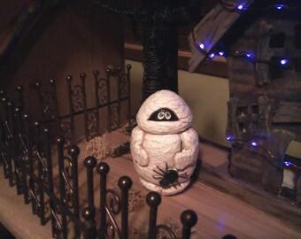 Halloween Mummy Carving