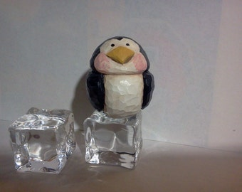 Hand Carved Penguin
