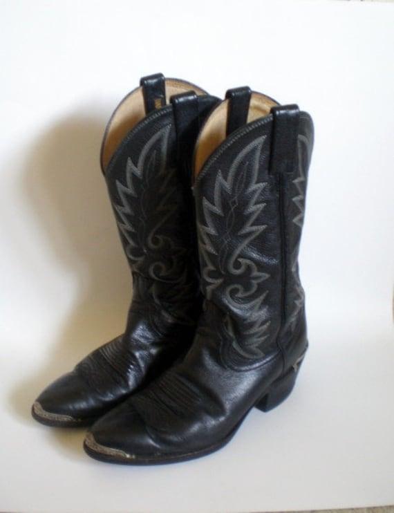 Fantastic Dan Post Women39s Southern Cross Boots  BlackAntique Tan