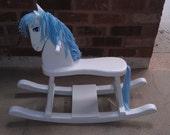 Custom Painted Rocking Horse