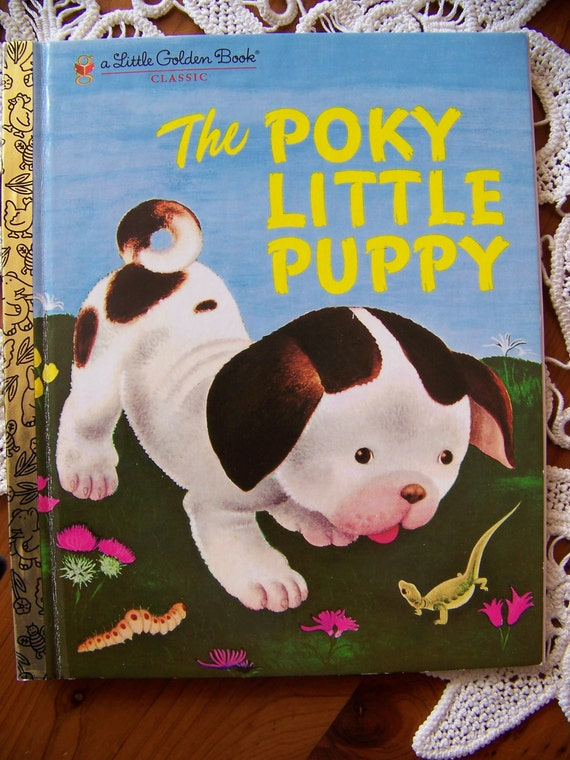 The Pokey Little Puppy Little Golden Book