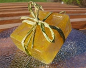 Monkey Farts Olive Oil Soap, Handmade, 4 ounces, Acne Soap, Soap Scrub, Natural Soap, Fruity Scented Soap, Kids Soap