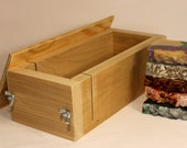 3 lb Professional Handmade New Wooden Soap Mold with Lid