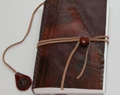 Tintagel - Steampunk - Medieval inspired Leather Journal Notebook