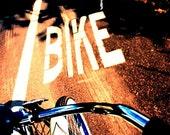 Life in the Bike Lane- Digital Photo