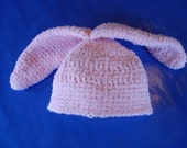 Crocheted Baby Bunny Hat