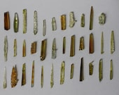 Natural Zincite Cystal Mineral Specimens Lot - Sold in Pairs