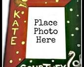 Hogwarts House Personalized Photo Frame