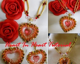 Heart In Heart Necklace Tutorial