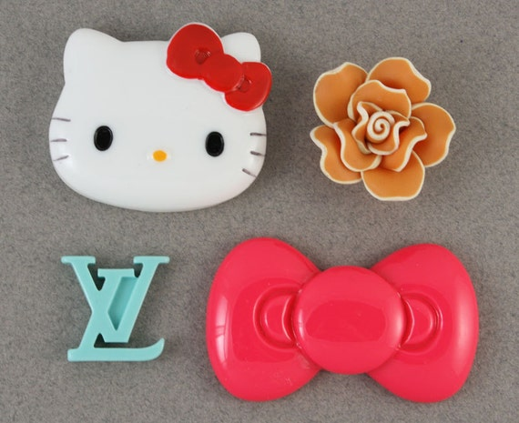 Super Minis - Colorful magic kawaii MINI kitty deco kit to bling out your phone - Set 144H
